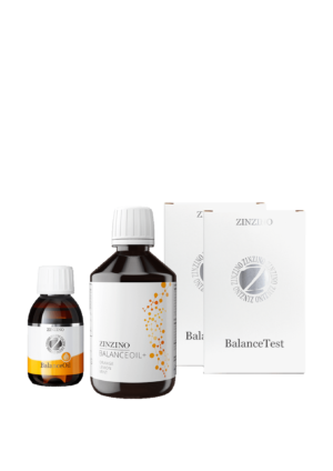 "Balance Oil, ""product includes omega 3 vitamin D3 and polyphenols"" Balance Oil with Test"